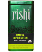 Organic Matcha Super Green Organic Loose Leaf Green Tea 1.76 oz (50 g), Rishi Tea