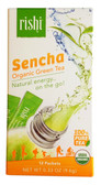 Organic Green Tea Sencha 12 Packets 0.33 oz (9.6 g), Rishi Tea