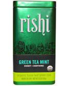 Organic Loose Leaf Green Tea Mint 1.59 oz (45 g), Rishi Tea