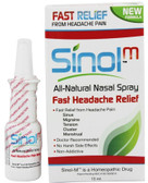 SinolM All-Natural Nasal Spray Fast Headache Relief 15 ml, Sinol