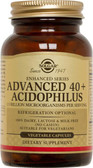 Advanced 40+ Acidophilus 120 Veggie Caps, Solgar