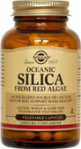 Oceanic Silica From Red Algae 100 Veggie Caps, Solgar