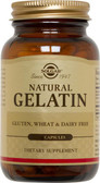 Natural Gelatin with Calcium Carbonate 250 Caps, Solgar