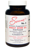 No. 3 Wheat Germ Oil 627 mg Each 120 Caps, Sonne's