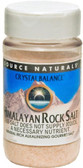 Crystal Balance Himalayan Rock Salt Fine Grind 12 oz (340 g), Source Naturals