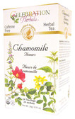 Chamomile Flowers Tea Organic 24 Tea Bags Celebration Herbals