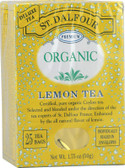 Organic Lemon Tea 25 Envelopes 1.75 oz (50 g), St. Dalfour