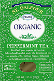 Peppermint Tea 25 Tea Bags 1.75 oz (50 g), St. Dalfour