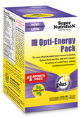 Opti-Energy Pack MultiVitamin/Mineral Supplement 30 Packets (6 Tabs) Each, Super Nutrition