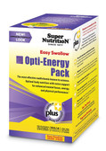 Opti-Energy Pack Multivitamin/Multimineral Supplement Iron-Free 90 Packets (4 Tabs) Each, Super Nutrition