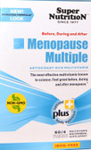 Before During and After Menopause Multiple Antioxidant-Rich Multivitamin Iron Free 60 Packets (4 Tabs) Each, Super Nutrition
