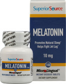 Melatonin 10 mg 100 MicroLingual Instant Dissolve Tabs, Superior Source
