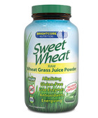 Raw Wheat Grass Juice Powder 180 Vegan Caps, Sweet Wheat