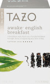 Awake English Breakfast Black Tea 20 Filterbags 1.8 oz (51 g), Tazo Teas