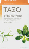 Herbal Tea Refresh Mint Caffeine-Free 20 Filterbags 0.8oz (24 g), Tazo Teas