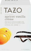 Apricot Vanilla Creme Flavored White Tea 20 Filterbags 1.06 oz (30 g), Tazo Teas