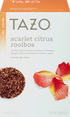 Herbal Tea Scarlet Citrus Rooibos Caffeine-Free 20 Filterbags 1.9 oz (55 g), Tazo Teas