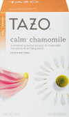 Herbal Tea Calm Chamomile Caffeine-Free 20 Filterbags 0.91 oz (26 g), Tazo Teas