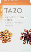Sweet Cinnamon Spice Caffeine-Free Herbal Tea 20 Filterbags 1.5 oz (45 g), Tazo Teas