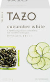 Cucumber White Tea 20 Filterbags 1.2 oz (34 g), Tazo Teas
