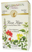 Rose Hips w Lemongrass Tea 24 Tea Bags Celebration Herbals