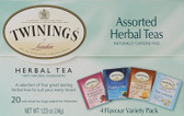 Assorted Herbal Teas Variety Pack No Caffeine 20 Tea Bags Twinings