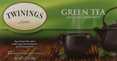 Green Tea 25 Tea Bags 1.76 oz (50 g), Twinings