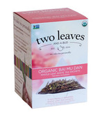 Organic Bai Mu Dan Whole Leaf White Tea 15 Sachets 1.06 oz (30 g), Two Leaves and a Bud