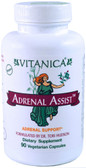 Adrenal Assist Adrenal Suppport 90 Veggie Caps, Vitanica
