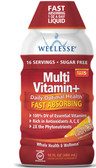 Multi Vitamin+ Sugar Free Natural Citrus Flavor 16 oz (480 ml), Wellesse Premium Liquid Supplements