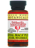 Royal Maca Plus For Women 500 mg 90 Veggie Caps, Whole World Botanicals