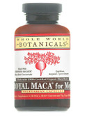 Royal Maca for Men Gelatinized 500 mg 180 Veggie Caps, Whole World Botanicals