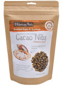 Raw Living Foods Cacao Nibs Coconut Sweetened 8 oz (226.8 g), Wilderness Poets