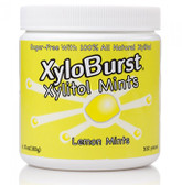 Xylitol Mints Lemon 6.35 oz (180 g) 300 Pieces, Xyloburst