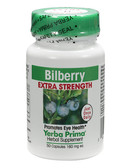 Bilberry Extra Strength 160 mg 50 Caps, Yerba Prima