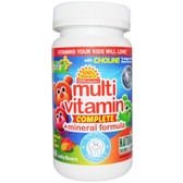 Multivitamin + Mineral Formula Yummy Grape Flavor 60 Jellies, Yum-V's