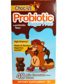 Probiotic + Prebiotic Fiber Milk Chocolate Sugar-Free 40 Bears, Yum-V's