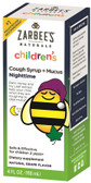Children's Cough Syrup+ Mucus Reducer Nighttime Natural Grape 4 oz, Zarbee's