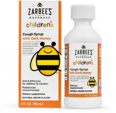 Children's Cough Syrup Natural Grape Flavor 4 oz, Zarbee's