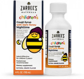 Children's Nighttime Cough Syrup Natural Grape Flavor 4 oz, Zarbee's