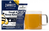 Cough & Throat Relief Nighttime Drink Honey Lemon 6 Packets (16 g) Each, Zarbee's