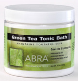 Green Tea Body Scrub Green Tea & Lemongrass 10 oz Abra Therapeutics