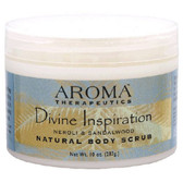 Natural Body Scrub Divine Inspiration Neroli & Sandalwood 10 oz (283 g), Abra Therapeutics