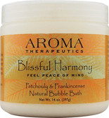 Natural Bubble Bath Blissful Harmony Patchouli & Frankincense 14 oz (397 g), Abra Therapeutics