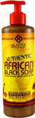 Authentic African Black Soap Tangerine Citrus 16 oz (475 ml), Alaffia