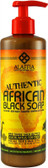 Authentic African Black Soap Eucalyptus Tea Tree 16 oz (475 ml), Alaffia