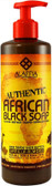 Authentic African Black Soap Vanilla Almond 16 oz (475 ml), Alaffia