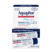 Baby Healing Ointment 2 Pack 0.35 oz (10 g) Each, Aquaphor