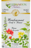 Meadowsweet Organic 24 Tea Bags Celebration Herbals