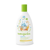 Bubble Bath Fragrance Free 20 oz (591 ml), BabyGanics